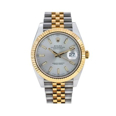 Rolex Datejust 126333 Maleta Para Hombre 41 Mm Acero Inoxidable