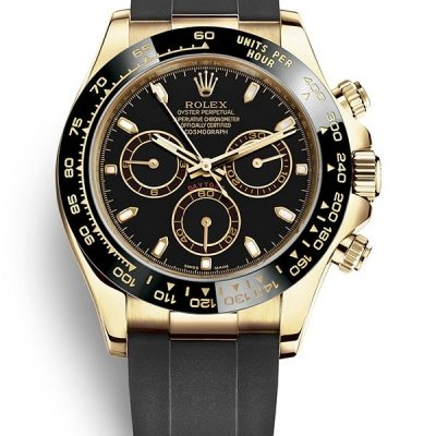 Rolex Daytona 116518ln 002 Hombres Dial Negro Oro Amarillo De 18 K