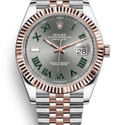 Rolex Datejust 126331-0016 Estuche Para Hombre 41 Mm Acero Inoxidable Oystersteel