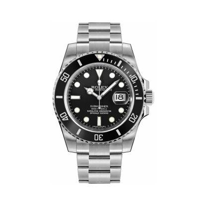 Rolex Submariner 116610 Reloj de acero para hombre con esfera negra de 40 mm